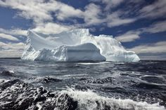 Canada, Newfoundland and Labrador, iceberg in ocean.    Can't wait to go back!