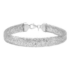 Shop for Sterling Essentials Italian Silver Mesh Bracelet. Get free delivery at Overstock.com - Your Online Jewelry Destination! Get 5% in rewards with Club O!