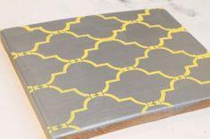 thread board, craftroom thread, board 015, yellow grey, bathroom redo