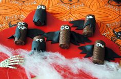 Mini Roll bats - who knew chocolate could be so scary?!