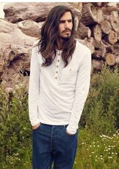 Amazing Men With Long Hair