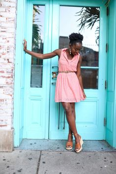 Every girl needs a lace dress for summer, bonus points if it's pink! Here's how to style this piece that you need to have in your wardrobe Pink Dress, Lace Dress, Spring Fashion Outfits, Women's Fashion, Lace Summer Dresses, Real Style, Confident Woman, Feminine Dress, Petite Women