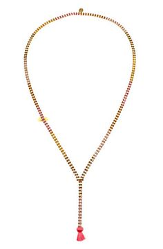 Juicy Couture 34in Tassel Necklace