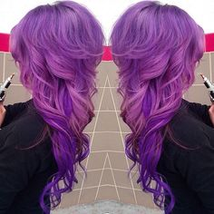 Full Purple Hair - Hairstyles How To