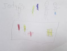 Each student illustrated their own version of a time of peace. #peace #illustration #brookeside #montessori