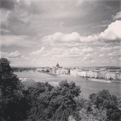View of the Parlament from Castle District, Budapest Hungary, Budapest, Castle, Clouds, Journal, Beach, Water, Outdoor, Gripe Water