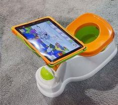 """""""Do we really need to be putting kids on the potty with an iPad - really, REALLY!?!"""" - i get what the previous pinner was thinking, but for a kiddo with autism this might not be a bad idea..."""