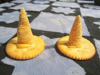 Witches' Hats made with only three ingredients.