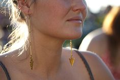 Aria Earrings, $46. Comment to win these beauties!   Photo: Courtesy of Sara Davis/Salty Fox