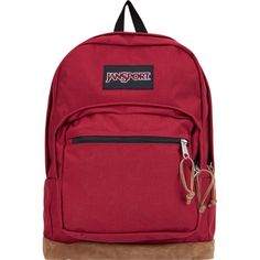 JANSPORT Right Pack Backpack in Viking Red  55 High School Bags 9292c579fbe7f