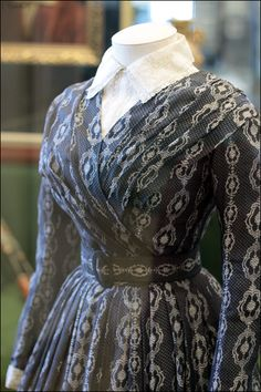 Dress, 1840s?, State Historical Museum, Moscow