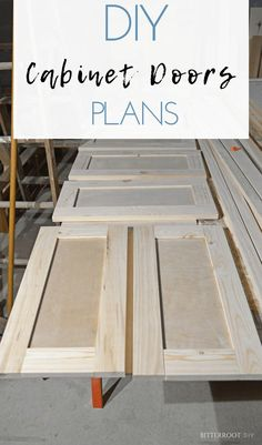 Easy DIY Shaker Cabinet Doors Free furniture plans from Bitterroot DIY to build your own cabinet doors you are really passionate aboutMy Shed Plans EliteMy Shed Plans E.