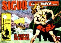 """""""Sigur el vikingo"""" (1958), de José Ortiz Moya y Mariano Hispano """"M. Bañolas"""". Editado por Toray."""