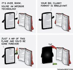 12 Images You'll Understand If You Read Both Print Books and Ebooks