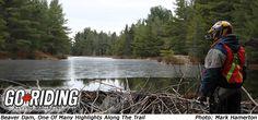 Ontario History By ATV 05 Beaver Dam, Magazine Articles, Atv, Ontario, Trail, History, Image, Atvs, Mtb Bike