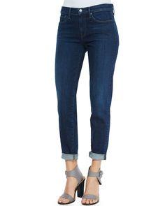 Vince Mason Five-Pocket Cuffed Jeans, Men's, Size: 26