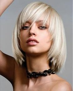 How come all the hair cuts I like have models with platinum blonde hair?
