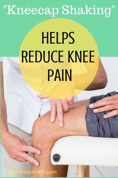 """What if there were a completely natural, pain-free solution you could do anywhere that would help reduce knee pain? Well, check out this """"knee shaking"""" exercise to quickly & naturally improve knee pain at home! It will help decrease inflammation, e Knee Arthritis, Arthritis Pain Relief, Arthritis Symptoms, Arthritis Remedies, Homeopathic Remedies, Swollen Knee, Knee Swelling, Knee Strengthening Exercises, How To Strengthen Knees"""