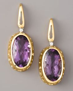 Roberto Coin  Amethyst Mauresque Earrings