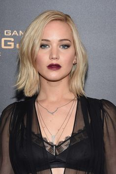 """Jennifer Lawrence attends """"The Hunger Games: Mockingjay- Part 2"""" New York Premiere at AMC Loews Lincoln Square 13 theater on November 18, 2015 in New York City."""