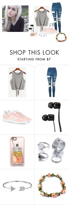 """""""RTD -Darling"""" by we-are-all-anons ❤ liked on Polyvore featuring Topshop, adidas Originals, Vans, Casetify and Bling Jewelry"""
