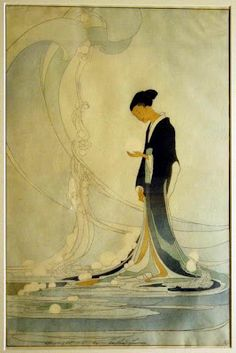 Spirit of the Seas (1916) by Bertha Lum