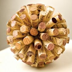 Wine Cork Crafts ! i was pretty upset last week when i opened up my bottle of wine and it didn't have a cork in it. after all, that's why i even drink wine. To store up my corks and finally make a craft