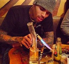 Chris Brown in Rehab: Can I Bring My Weed?... lol tha would be me!