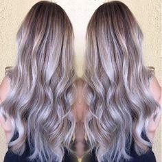 Ashy vibes  #ashyblonde #ashyhaircolor #ashyhair #ashyblondehair #silverhair #btcpics #btconeshot_hairpaint #btconeshot_color #btconeshot_ombre #balayage #balayageombre #balayagehair #ombre #ombrehair #modernsalon #hotonbeauty #hairaddictionmag #hairbrained #americansalon #blondies #summerhair #stylistshopconnection #blondehair #blondie