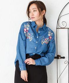 【ZOZOTOWN】Ray Cassin(レイカズン)のシャツ/ブラウス「刺繍入りシャツ」(172113450)を購入できます。