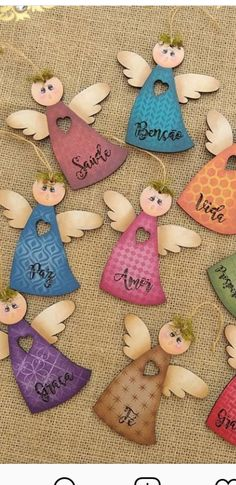 Xo 2019 Xo The post Xo 2019 appeared first on Woodworking ideas. Christmas Angel Decorations, Christmas Angels, Christmas Cards, Christmas Ornaments, Clay Crafts, Wood Crafts, Pinterest Christmas Crafts, Tole Painting Patterns, Angel Crafts