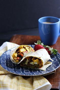 Vegan Breakfast Burr