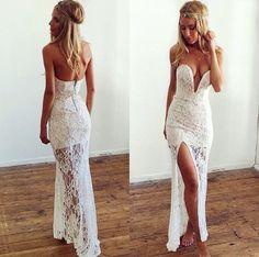 Quick court house wedding dress (:
