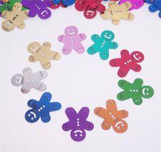 Gingerbread Man Confetti