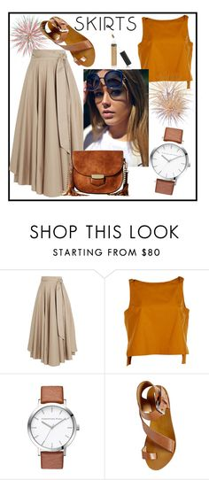 """""""Skirt"""" by love88-90 ❤ liked on Polyvore featuring TIBI, Fendi, Steve Madden and Gabriella Rocha"""