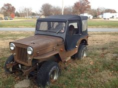 Jeep CJs are one of the most popular vehicles ever produced. Old Jeep, Jeep Cj, Jeep Willys, Vintage Jeep, Old Trucks, Lifted Trucks, Jeep Life, Offroad, Dream Cars