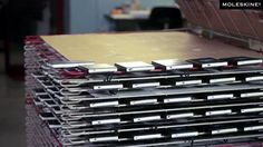 Take an up-close look on how Moleskine notebooks are customized. This decorating procedure is used to create Moleskine custom edition. Video by Alvise Tedesco. Music by Kevin MacLeod.