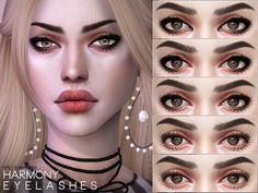 Harmony Eyelashes N79 by Pralinesims at TSR • Sims 4 Updates