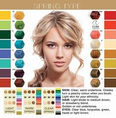 Herfsttype - FATES, style with a story Light Spring Palette, Spring Color Palette, Spring Colors, Bright Spring, Warm Spring, Clear Spring, Eye Color, Hair Color, Color Rubio