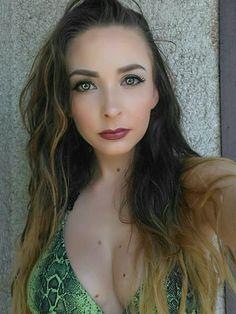 Jungle look  #makeup #lashes #brunette