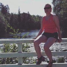 Valkealassa myllyllä. I really do love running!