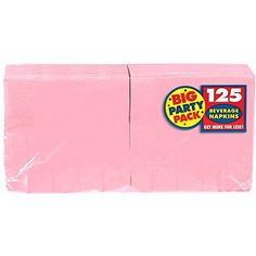 Amscan Big Party Pack 125 Count Beverage Napkins, New Pin... https://www.amazon.com/dp/B004UPSRR4/ref=cm_sw_r_pi_dp_x_0yUyyb0FK5RRP