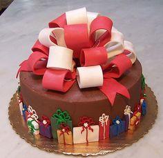 bolos decorados natalinos - Bing Imagens