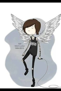 RIDE IN PARADISE MITCH LUCKER!!!! YOUR OUR ROCKSTAR GUARDIAN ANGEL NOW!!! KEEP THE ROCKERS OF THE WORLD SAFE!! R.I.P.! <3 <3 <3