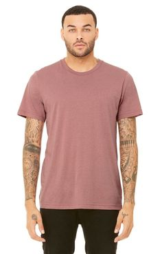 bb2516b13e854 BELLA+CANVAS 3650 Mens Poly-Cotton T-Shirt