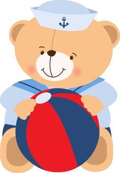 urso marinheiro em png - Pesquisa Google