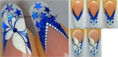Nails tutorial By Bianca F