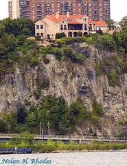 A View from Manhattan Of a House Overlooking Hudson River in Union City, NJ. http://www.atmgt.com/