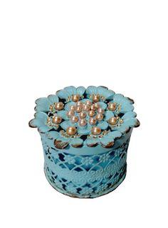 A Loja do Gato Preto | Caixa Pérolas Azul #alojadogatopreto