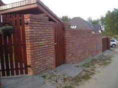 ogrodzenie z cegły - Szukaj w Google